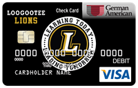 Lion Check Card